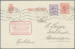 7094: Collections and Lots Scandinavia - Postal stationery