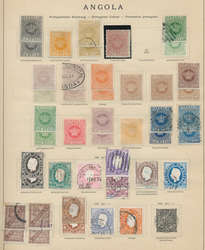 7212: Collections and Lots Portugese Colonies Africa