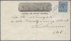 1955: Britisch Columbia und Vancouver Inseln - Ganzsachen