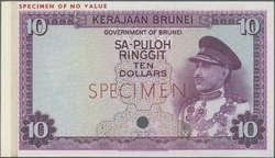 110.570.100: Banknoten - Asien - Brunei