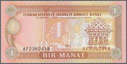 110.570.470: Banknoten - Asien - Turkmenistan