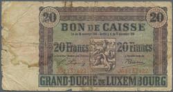 110.270: Banknoten - Luxemburg
