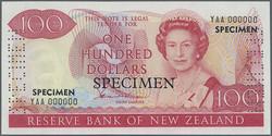 110.580.70: Banknoten - Ozeanien - Neuseeland