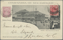 4465: Mosambik Gesellschaft - Ganzsachen