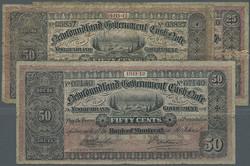 110.560.210: Banknoten - Amerika - Neufundland