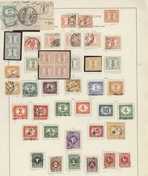 1560: Ägypten (Königreich) - Portomarken