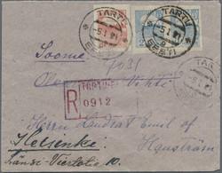 7090: Sammlungen und Posten Baltische Staaten - Ganzsachen