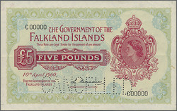 110.560.110: Billets - Amérique - Falkland Islands
