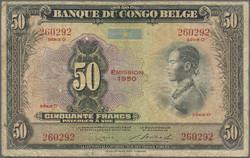 Numissearchcom Münzen Belgisch Kongo