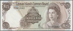 110.560.165: Banknoten - Amerika - Kaimaninseln