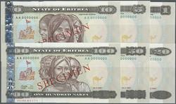 110.550.112: Banknoten - Afrika - Eritrea