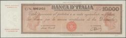 110.200: Banknoten - Italien