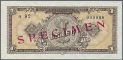 110.400: Banknoten - Rumänien