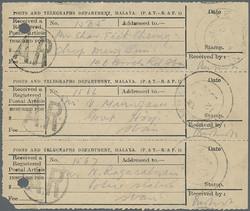 7465: Sammlungen und Posten Japan Besetzung II. WK - Engros