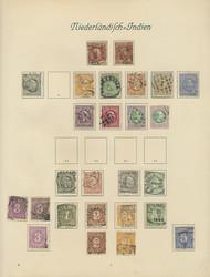 7190: Sammlungen und Posten Niedl. Kolonien - Sammlungen