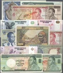 110.550.190: Banknoten - Afrika - Kongo Republik