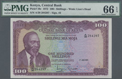 110.550.180: Banknoten - Afrika - Kenia