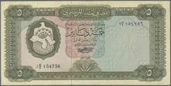 110.550.215: Banknoten - Afrika - Libyen