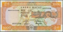 110.570.290: Banknoten - Asien - Macau