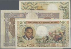110.550.220: Banknoten - Afrika - Madagaskar