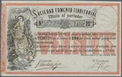 110.560.270: Banknoten - Amerika - Uruguay