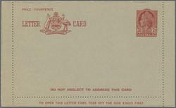 1750: Australien - Ganzsachen