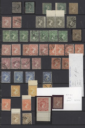 7140: Sammlungen und Posten Britisch Commonwealth allgemein - Sammlungen