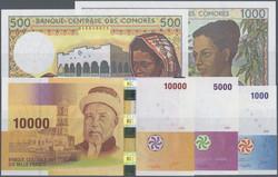 110.550.185: Banknoten - Afrika - Komoren