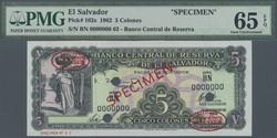 110.560.260: Banknoten - Amerika - El Salvador