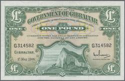 110.130: Banknoten - Gibraltar