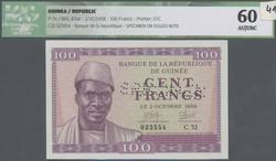 110.550.150: Banknoten - Afrika - Guinea