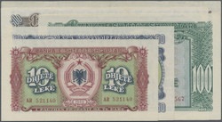 110.10: Banknoten - Albanien
