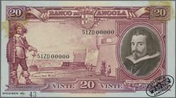 110.550.50: Banknotes – Africa - Angola