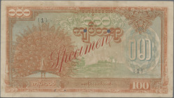 110.570.330: Banknoten - Asien - Myanmar