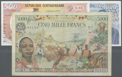 110.550.480: Banknotes – Africa - Central African Republic