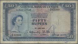 110.570.400: Banknotes – Asia - Sri Lanka