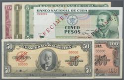 110.560.190: Banknotes – America - Cuba