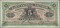 110.560.260: Banknotes – America - El Salvador