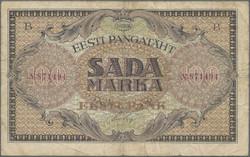 110.90: Banknoten - Estland