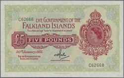 110.560.110: Banknotes – America - Falkland Islands
