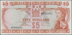 110.580.30: Banknotes – Oceania - Fiji