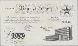 110.550.140: Banknoten - Afrika - Ghana