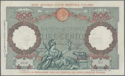 110.550.156: Banknotes – Africa - Italian East Africa