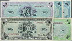110.200: Banknotes - Italy