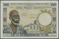 110.550.110: Banknotes – Africa - Ivory Coast