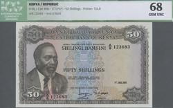 110.550.180: Banknotes – Africa - Kenya