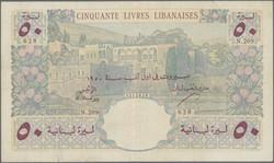 110.570.280: Banknotes – Asia - Lebanon