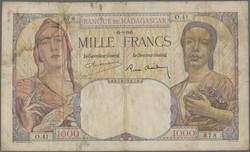 110.550.220: Banknotes – Africa - Madagascar
