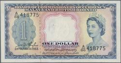 110.570.296: Banknotes – Asia - Malaya & British Borneo