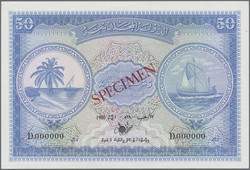 110.570.310: Banknotes – Asia - Maledive Islands